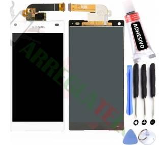 Pełny ekran dla Sony Xperia Z5 Compact Mini E5823 E5803 Biały Biały