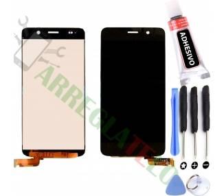 Pantalla Completa para Huawei Ascend Y6 Negro Negra ARREGLATELO - 1