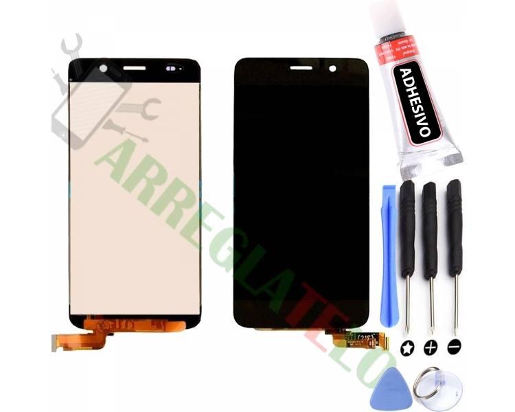 Vollbild für Huawei Ascend Y6 Black Black ARREGLATELO - 1