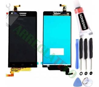 Pantalla Completa para Huawei Ascend G6 Negro Negra ARREGLATELO - 1