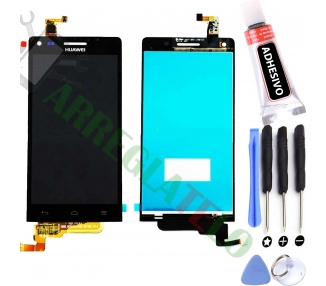 Display For Huawei Ascend G6, Color Black