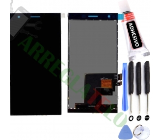 Pantalla Completa para Orange Rono - Zte Blade Vec 4G Negro Negra ARREGLATELO - 1