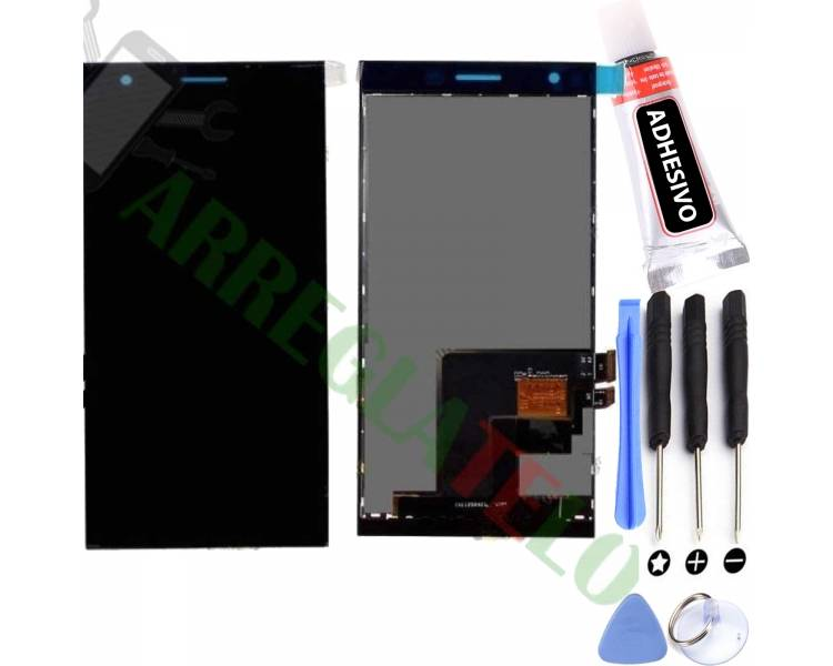 Schermo Display per Orange Rono * Zte Blade Vec 4G Nero ARREGLATELO - 1