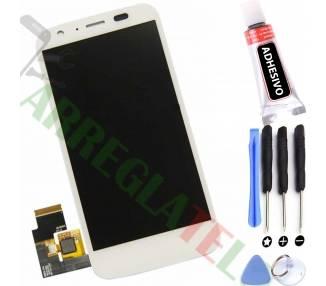 Display For Motorola Moto G, Color White