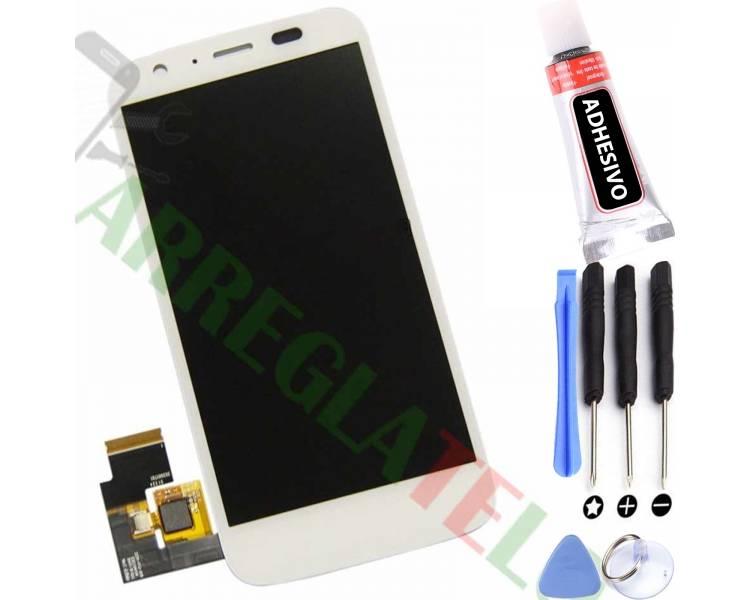 Pantalla Completa para Motorola Moto G XT1032 Blanco Blanca ARREGLATELO - 1