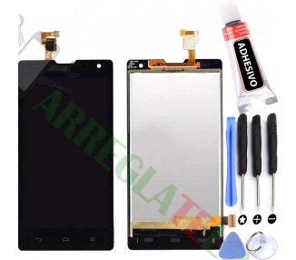 Display For Huawei G740, Color Black