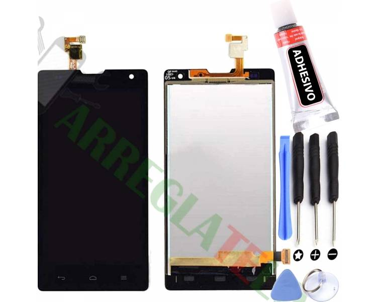 Display For Huawei G740 | Color Black | ULTRA+ - 1