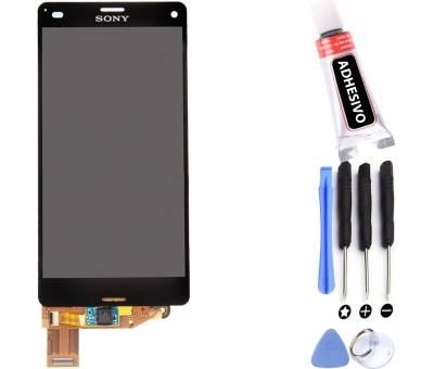 Volledig scherm voor Sony Xperia Z3 Compact Mini D5803 D5833 Zwart Zwart FIX IT - 1