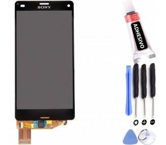 Pełny ekran dla Sony Xperia Z3 Compact Mini D5803 D5833 Czarny Czarny