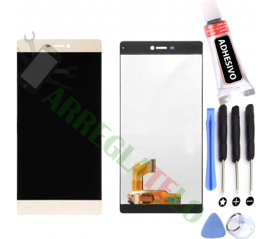 Display For Huawei Ascend P8 | Color Gold | ULTRA+ - 1