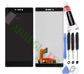 Pantalla Completa para Huawei Ascend P8 Negro Negra ARREGLATELO - 1