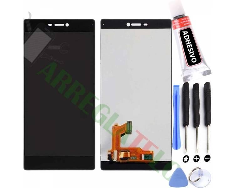 Pełny ekran dla Huawei Ascend P8 Black Black ARREGLATELO - 1