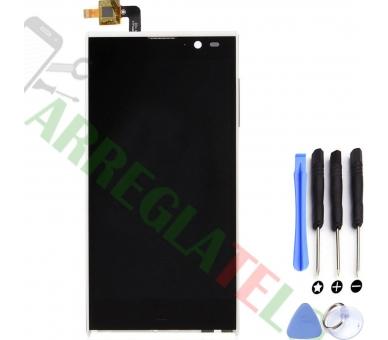 Pełny ekran dla iNew V3 HD Woxter Zielo S11 White White ARREGLATELO - 1