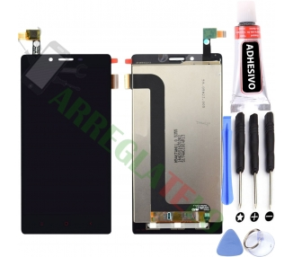 Pełny ekran dla Xiaomi Redmi Note 4G Note 3G 1S Czarny Czarny