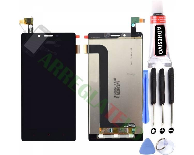 Vollbild für Xiaomi Redmi Note 4G Note 3G 1S Schwarz Schwarz ARREGLATELO - 1
