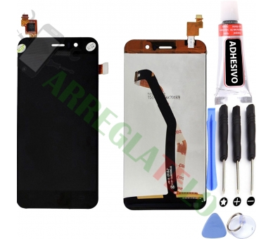 Display For Jiayu G4 | Color Black | ULTRA+ - 1