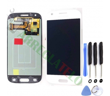 Vollbild für Samsung Galaxy Ace 4 Weiß Weiß ARREGLATELO - 1