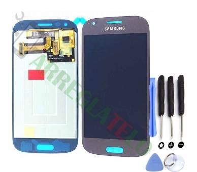 Volledig scherm voor Samsung Galaxy Ace 4 Zwart Zwart Blauw FIX IT - 1