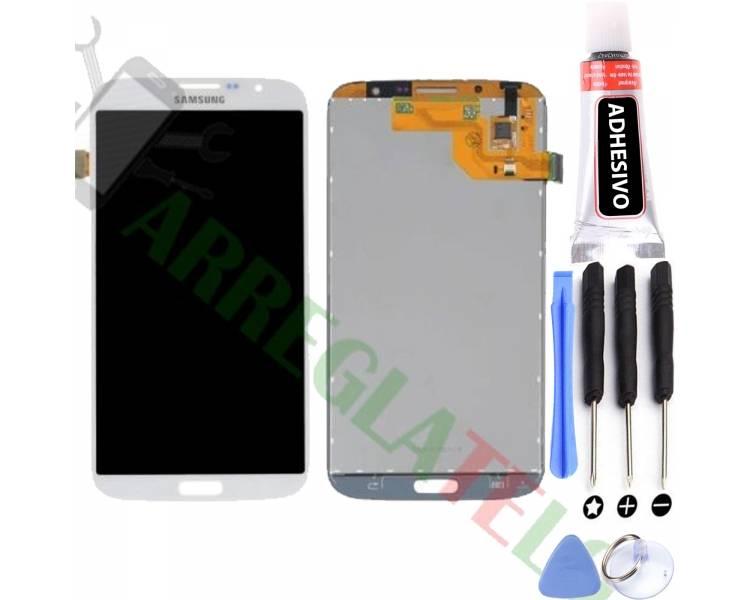 Ecran pour Samsung Galaxy Mega i9200 i9205 Blanc ULTRA+ - 1
