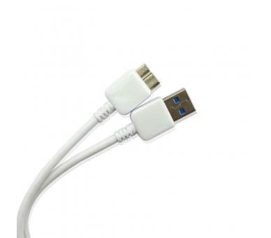 CABLE DE DATOS Y CARGA MICROUSB MICRO-USB 3.0 para SAMSUNG GALAXY NOTE 3 N9005  - 2