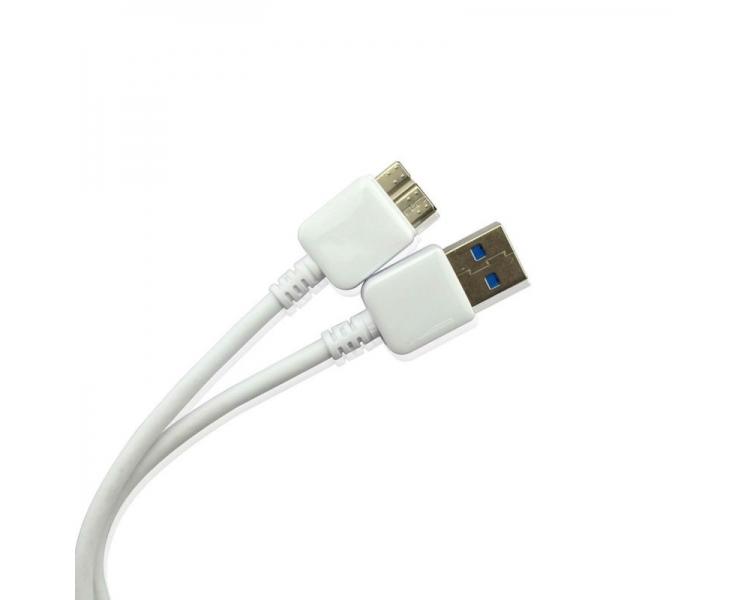CABLE DE DATOS Y CARGA MICROUSB MICRO-USB 3.0 PARA SAMSUNG GALAXY NOTE 3 N9005 ARREGLATELO - 2
