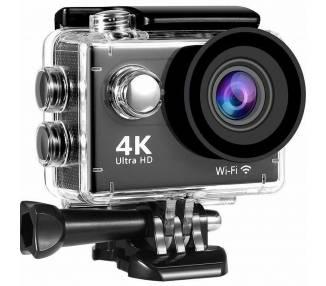 Kamera Ultra HD 4K WiFi Sport Akcja wideo Zanurzalny Wodoodporny 12MP  - 1