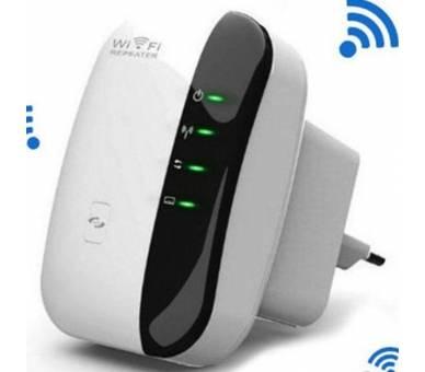 Amplificador Wifi 300Mbps Repetidor Inalámbrico Señal Extensor de Red Router  - 1