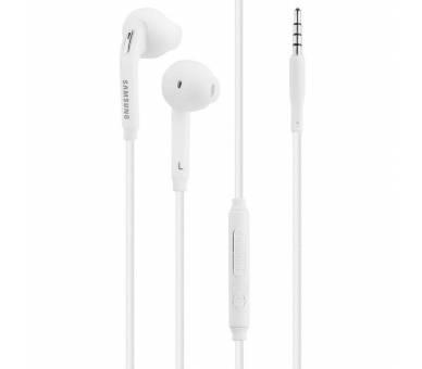 Auriculares Originales Samsung EO-EG920BW Color Blanco con Caja  - 2