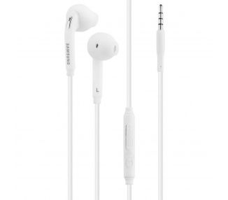 Earphones | Samsung EO-EG920BW | Color White | With Box - 2