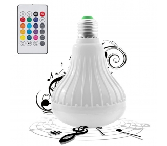 Led B22 E27 RGB with Remote   Bluetooth   Wireless Speaker for Music  - 1