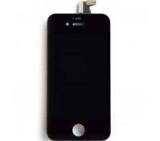 Pantalla para iPhone 4 / 4S Sin Marco Negro Negra  - 1