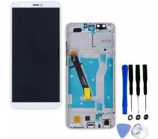 Pantalla Completa con Marco para Huawei Honor 9 Lite Blanco Blanca  - 1