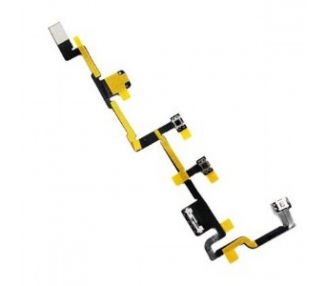 Cable Flex Boton Power Encendido Volumen Mute Buttons para Ipad 2 Apple - 1