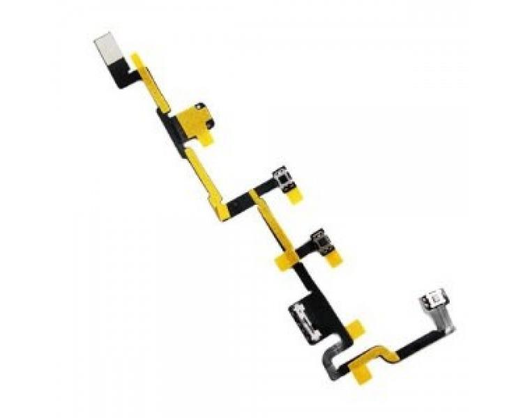Cable Flex Boton Power Encendido Volumen Mute para Ipad 2 Apple - 1