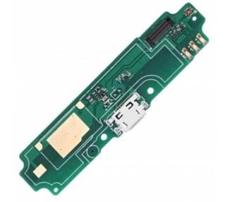 Placa de Carga Micro USB con Antena & Microfono para Xiaomi Redmi 4A  - 1