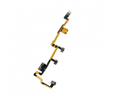 Cable Flex Boton Power Encendido Volumen Mute Buttons para Ipad 2 ARREGLATELO - 2