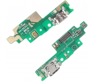 Placa de Carga Micro USB con Antena & Microfono para Xiaomi Redmi 4X  - 1