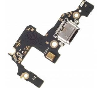Płytka ładująca USB typu C z anteną i mikrofonem do Huawei P10