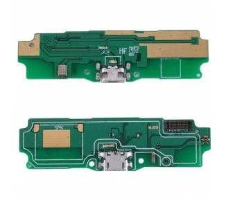 Micro USB-oplaadplaat met microfoon en antenne voor Xiaomi Redmi 5A