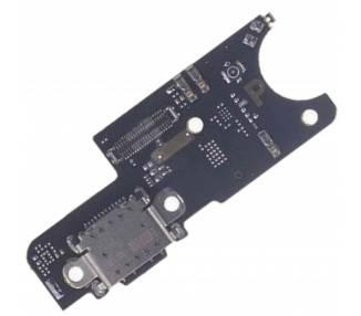 USB-Ladeplatte Typ C mit Antenne und Mikrofon für Xiaomi Pocophone F1