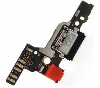 USB Typ C Ladeplatte mit Antenne und Mikrofon für Huawei P9 EVA-L09