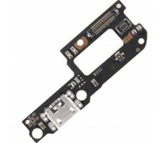 Płytka ładująca Micro USB z anteną mikrofonu do Xiaomi Mi A2 Lite Redmi 6 Pro