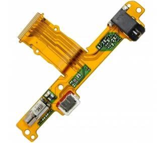 Flex Placa de Carga Micro USB para Huawei Mediapad 10 con Vibrador Y jack Audio