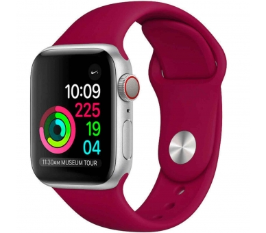 Correa Reloj Apple Watch Series 1 2 3 4 pulsera silicona iWatch 38-40 42-44mm ARREGLATELO - 9