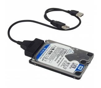 """Cavo USB per adattatore convertitore SSD HDD disco rigido esterno SATA 2.5 """"  - 1"""
