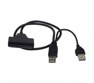 """Cable usb a SATA 2.5"""" disco duro externo HDD SSD Adaptador Conversor  - 2"""