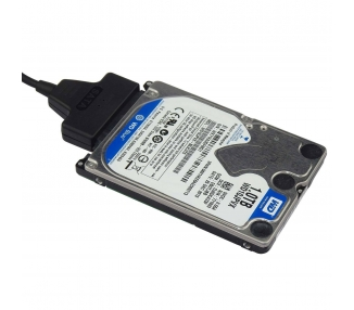"USB cable to SATA 2.5 external hard disk HDD SSD Adapter Converter"" ARREGLATELO - 3"