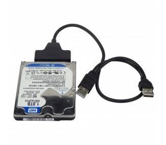 "USB cable to SATA 2.5 external hard disk HDD SSD Adapter Converter"" ARREGLATELO - 5"