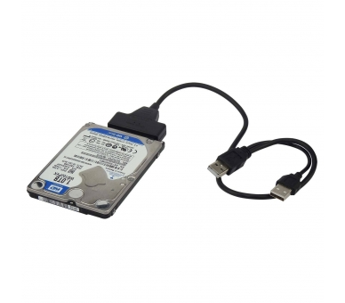 """Cable usb a SATA 2.5"""" disco duro externo HDD SSD Adaptador Conversor  - 6"""