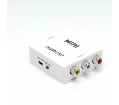Adaptador Conversor De Señal HDMI a AV Rca Analogica Video -NTSC/PAL HDMI-to-AV  - 9